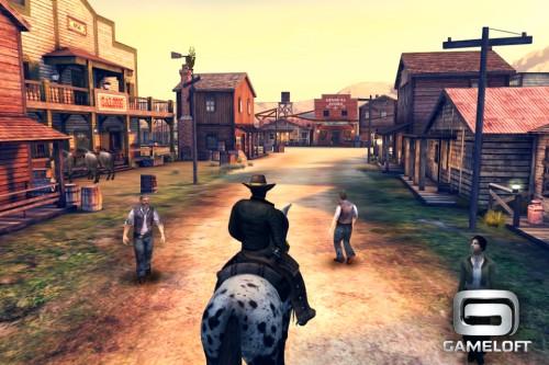 Скачать бесплатно игры для телефона, Скачать Six-Guns