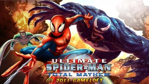 Скачать бесплатно игры для телефона, Скачать spiderman total mayhem