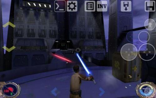 Скачать бесплатно игры для телефона, Скачать Star wars Jedi knight II.