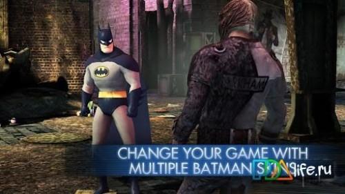 Скачать бесплатно игры для телефона, Скачать Batman: Arkham City Lockdown