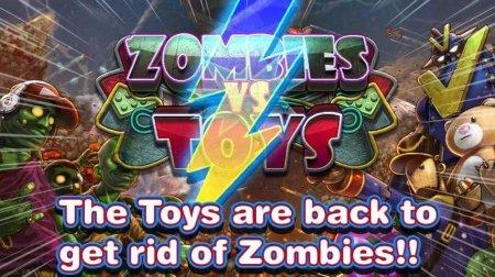 Скачать бесплатно игры для телефона, Скачать Toys vs Zombies