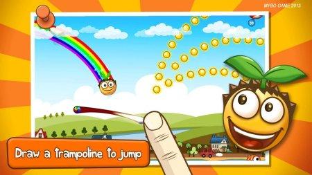 Скачать бесплатно игры для телефона, Скачать Bouncy Seed