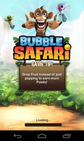 Скачать бесплатно игры для телефона, Скачать Bubble Safari