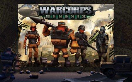 Скачать бесплатно игры для телефона, Скачать Warcorps Genesis