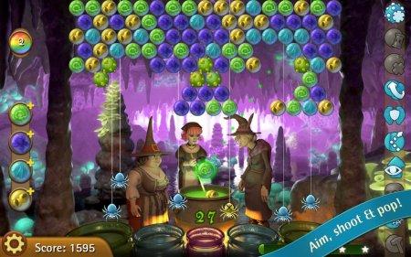 Скачать бесплатно игры для телефона, Скачать Bubble Witch Saga