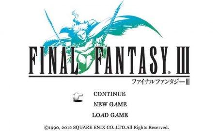 Скачать бесплатно игры для телефона, Скачать FINAL FANTASY III