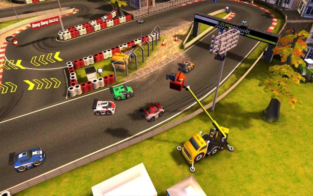 Скачать бесплатно игры для телефона, Скачать Bang Bang Racing