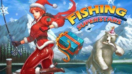 Скачать бесплатно игры для телефона, Скачать Fishing Superstars