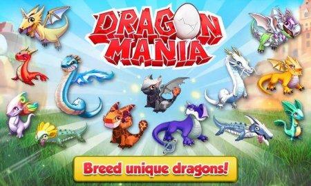 Скачать бесплатно игры для телефона, Скачать Dragon Mania