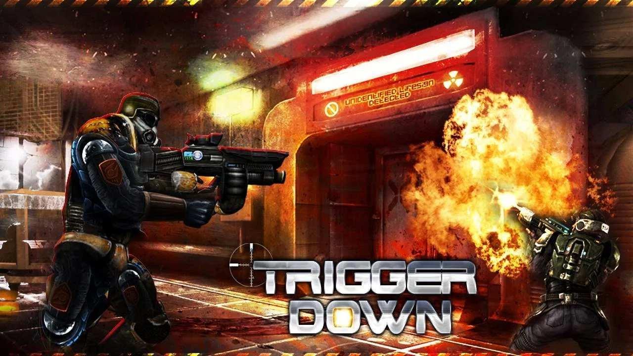 Скачать бесплатно игры для телефона, Скачать Trigger Down Pro
