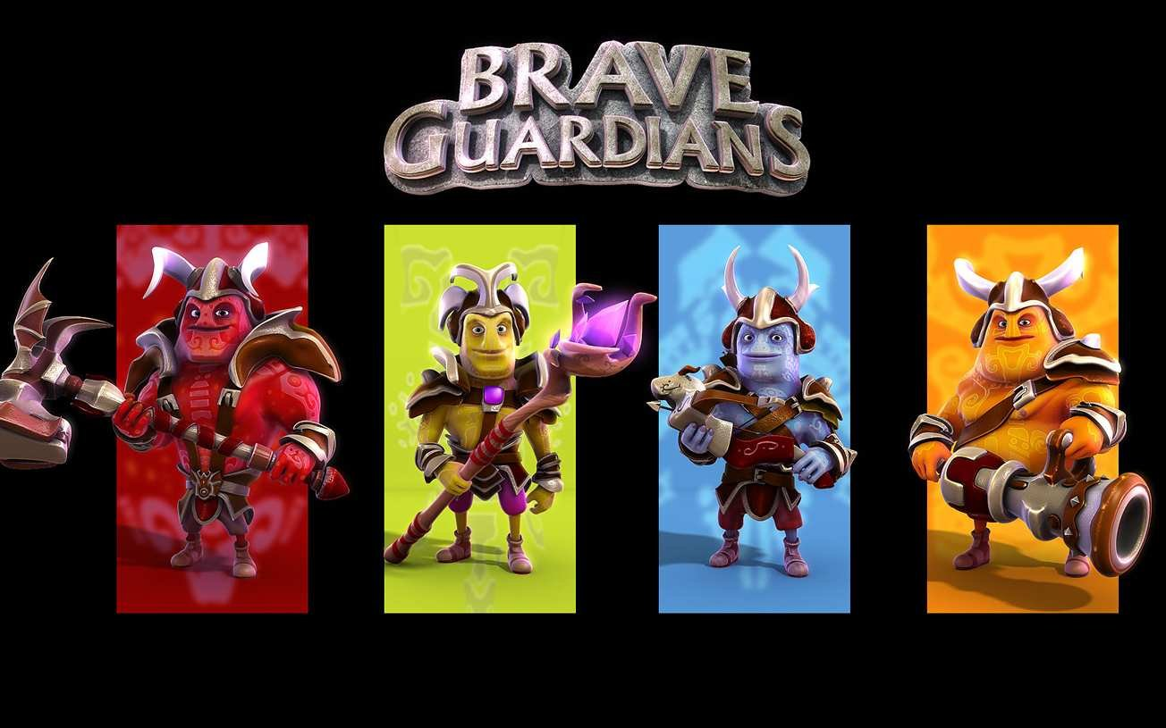 Скачать бесплатно игры для телефона, Скачать Brave Guardians