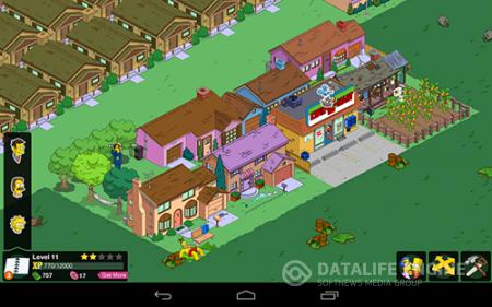 Скачать бесплатно игры для телефона, Скачать The Springfield