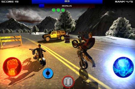 Скачать бесплатно игры для телефона, Скачать Race Stunt Fight 3!