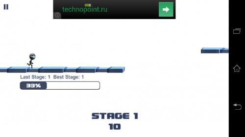 Скачать бесплатно игры для телефона, Скачать Stickman Impossible Run