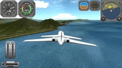 Скачать бесплатно игры для телефона, Скачать BOEING FLIGHT SIMULATOR Xtreme