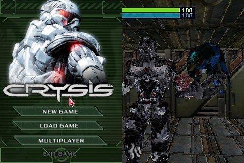 Скачать бесплатно игры для телефона, Скачать Crysis Mobile