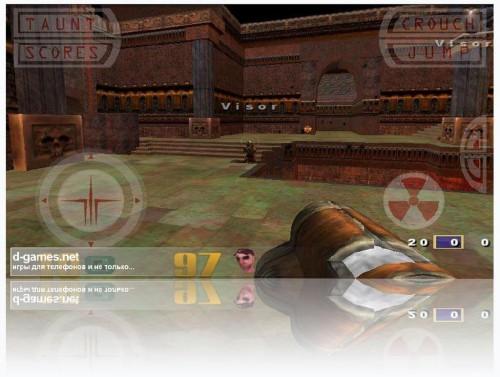 Скачать бесплатно игры для телефона, Скачать Quake 3