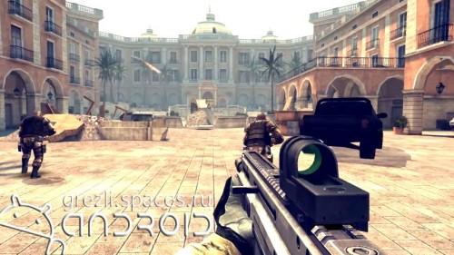 Скачать бесплатно игры для телефона, Скачать Modern Combat 4 Zero Hour
