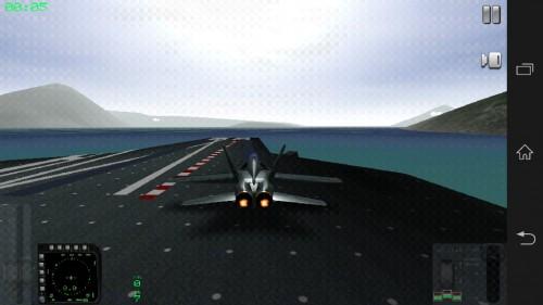 Скачать бесплатно игры для телефона, Скачать F18 Carrier Landing