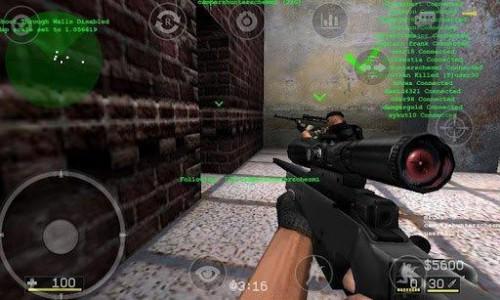 Скачать бесплатно игры для телефона, Скачать Counter Strike Portable
