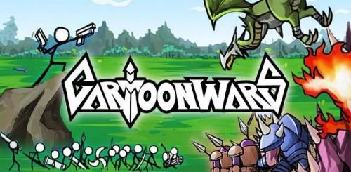 Скачать бесплатно игры для телефона, Скачать cartoon-wars