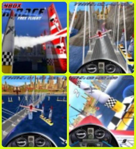 Скачать бесплатно игры для телефона, Скачать AirRace SkyBox