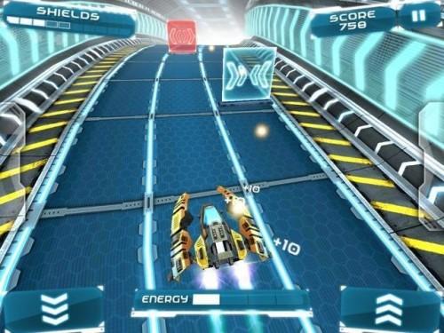 Скачать бесплатно игры для телефона, Скачать Ion Racer