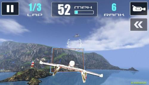 Скачать бесплатно игры для телефона, Скачать Red Wing Ikaro Racing