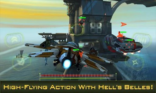 Скачать бесплатно игры для телефона, Скачать Bombshells: Hells Belles
