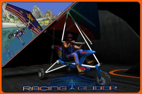 Скачать бесплатно игры для телефона, Скачать Racing Glider