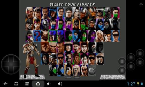 Скачать бесплатно игры для телефона, Скачать Ultimate Mortal Kombat