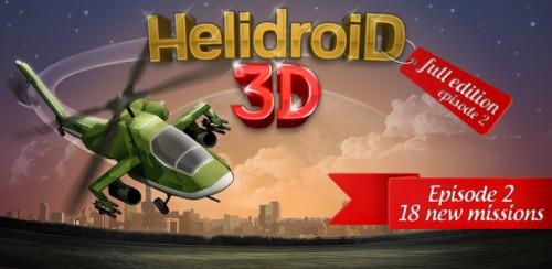 Скачать бесплатно игры для телефона, Скачать Helidroid 3D: Full Edition