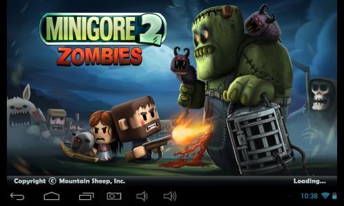Скачать бесплатно игры для телефона, Скачать Minigore 2: Zombies