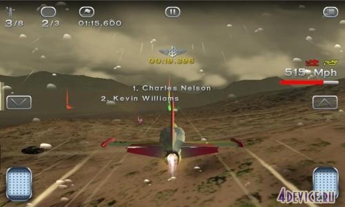 Скачать бесплатно игры для телефона, Скачать Breitling Reno Air Races