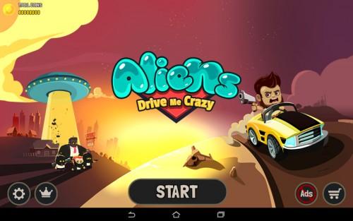 Скачать бесплатно игры для телефона, Скачать Aliens Drive Me Crazy