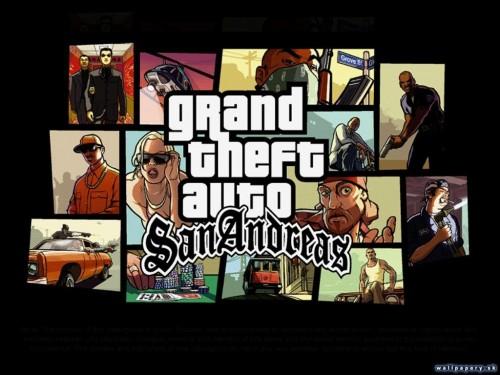 Скачать бесплатно игры для телефона, Скачать Grand Theft Auto: San Andreas