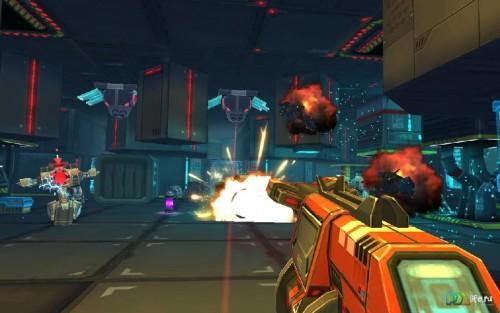 Скачать бесплатно игры для телефона, Скачать Neon Shadow
