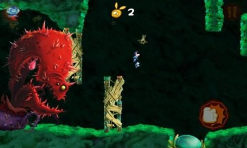 Скачать бесплатно игры для телефона, Скачать Rayman Jungle Run