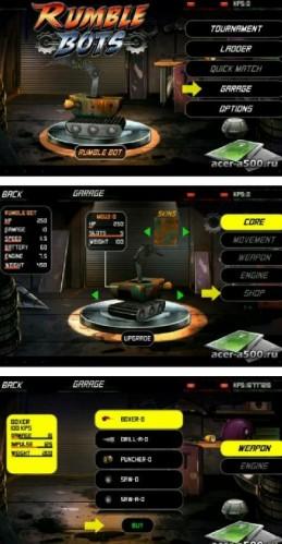 Скачать бесплатно игры для телефона, Скачать Rumble Bots