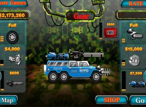 Скачать бесплатно игры для телефона, Скачать Smash Police Car - Outlaw Run