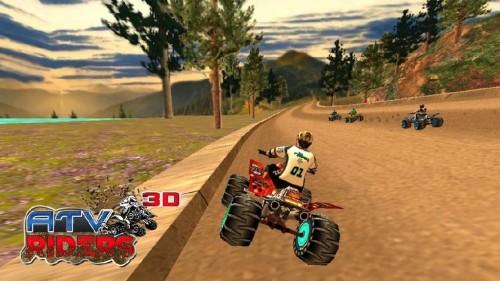 Скачать бесплатно игры для телефона, Скачать ATV Riders 3D