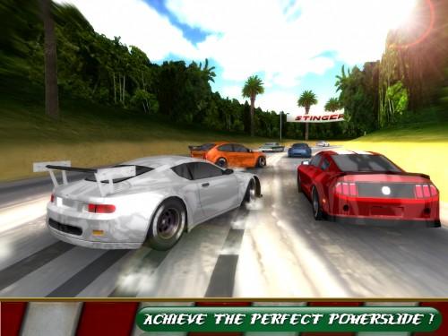 Скачать бесплатно игры для телефона, Скачать Burning Rubber High Speed Race