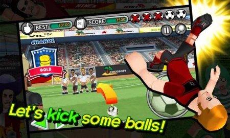 Скачать бесплатно игры для телефона, Скачать Freekick Battle
