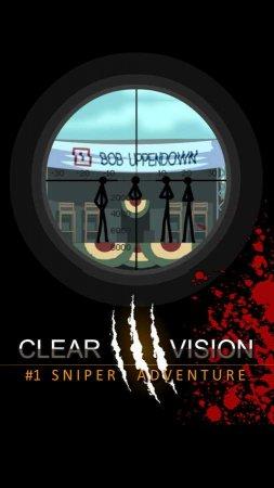 Скачать бесплатно игры для телефона, Скачать Clear Vision 3 - Sniper Shooter
