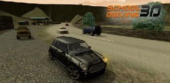 Скачать бесплатно игры для телефона, Скачать School Driving 3D