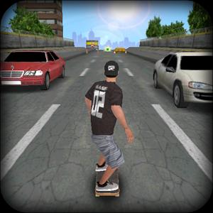 Скачать бесплатно игры для телефона, Скачать PEPI Skate 3D