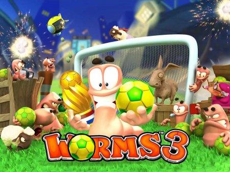 Скачать бесплатно игры для телефона, Скачать Взломанный Worms 3