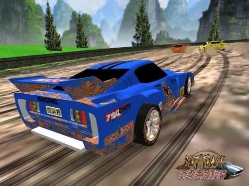 Скачать бесплатно игры для телефона, Скачать Dirt Track Racing