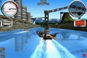 Скачать бесплатно игры для телефона, Скачать Гонки на катерах (Wave Blazer)