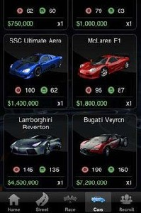 Скачать бесплатно игры для телефона, Скачать Racing Live